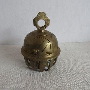 Vintage Indian Meditation Bell Elephant Bell Brass